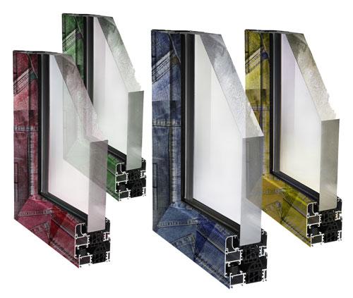 Nuove texture e colorazioni per i sistemi per serramenti for Uniform sistemi per serramenti