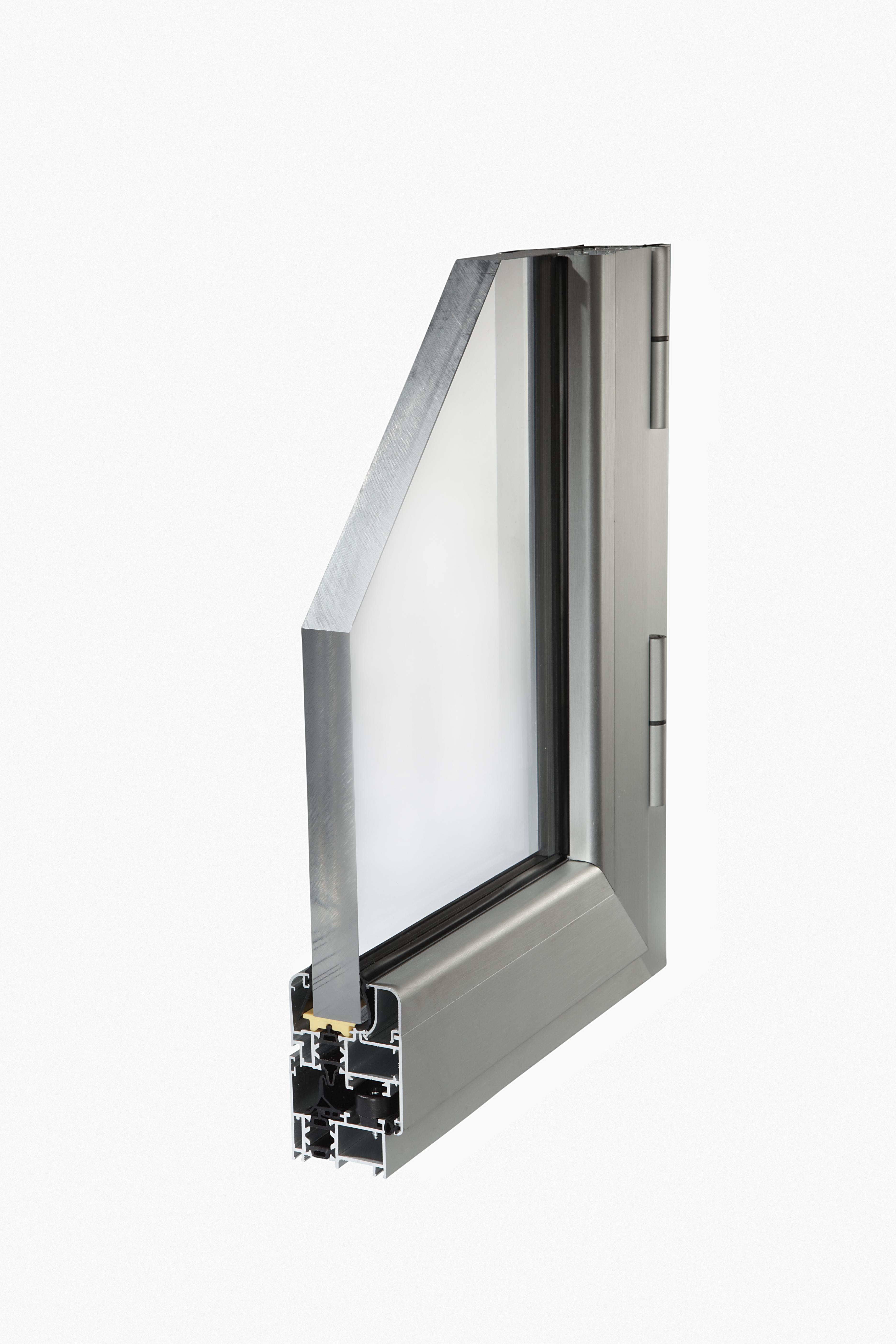 Planet 50 tt sistema a taglio termico per serramenti in - Profili alluminio per finestre ...